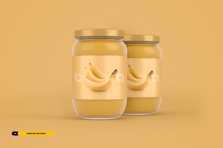 Jam Jar Packaging Mockup example image 4