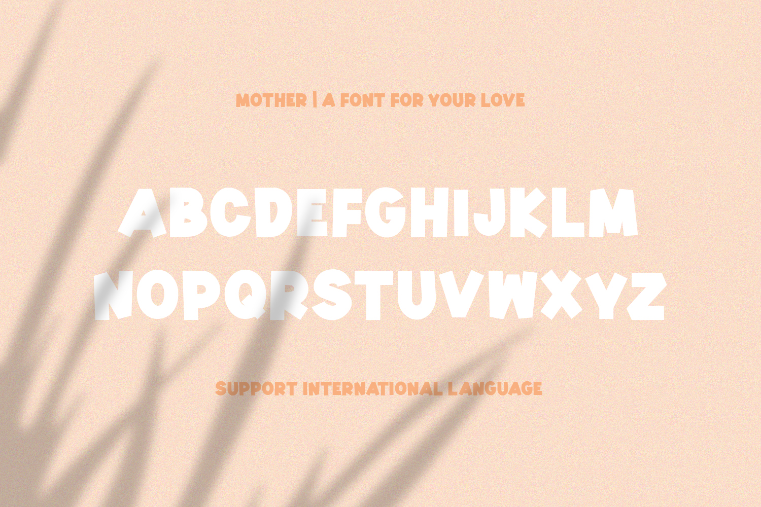Mother | A Font for Your Love example image 8