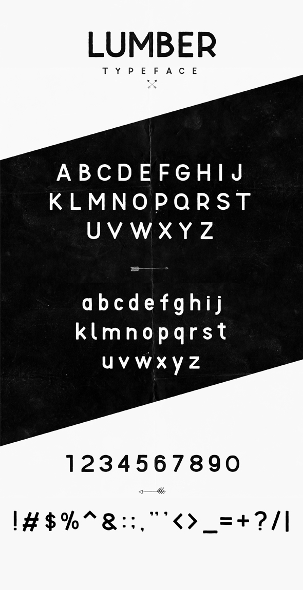 Lumber Typeface example image 2