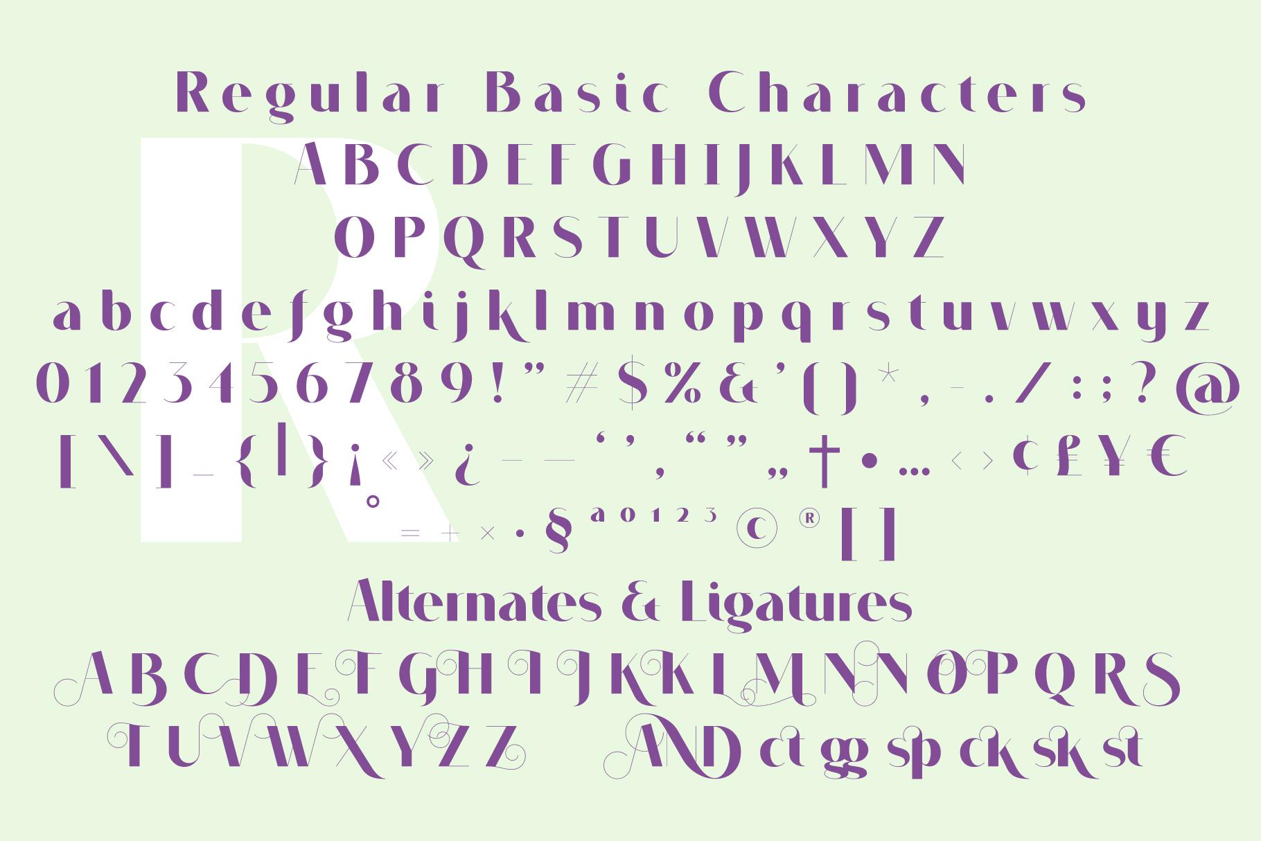 VOGUER Sans example image 3