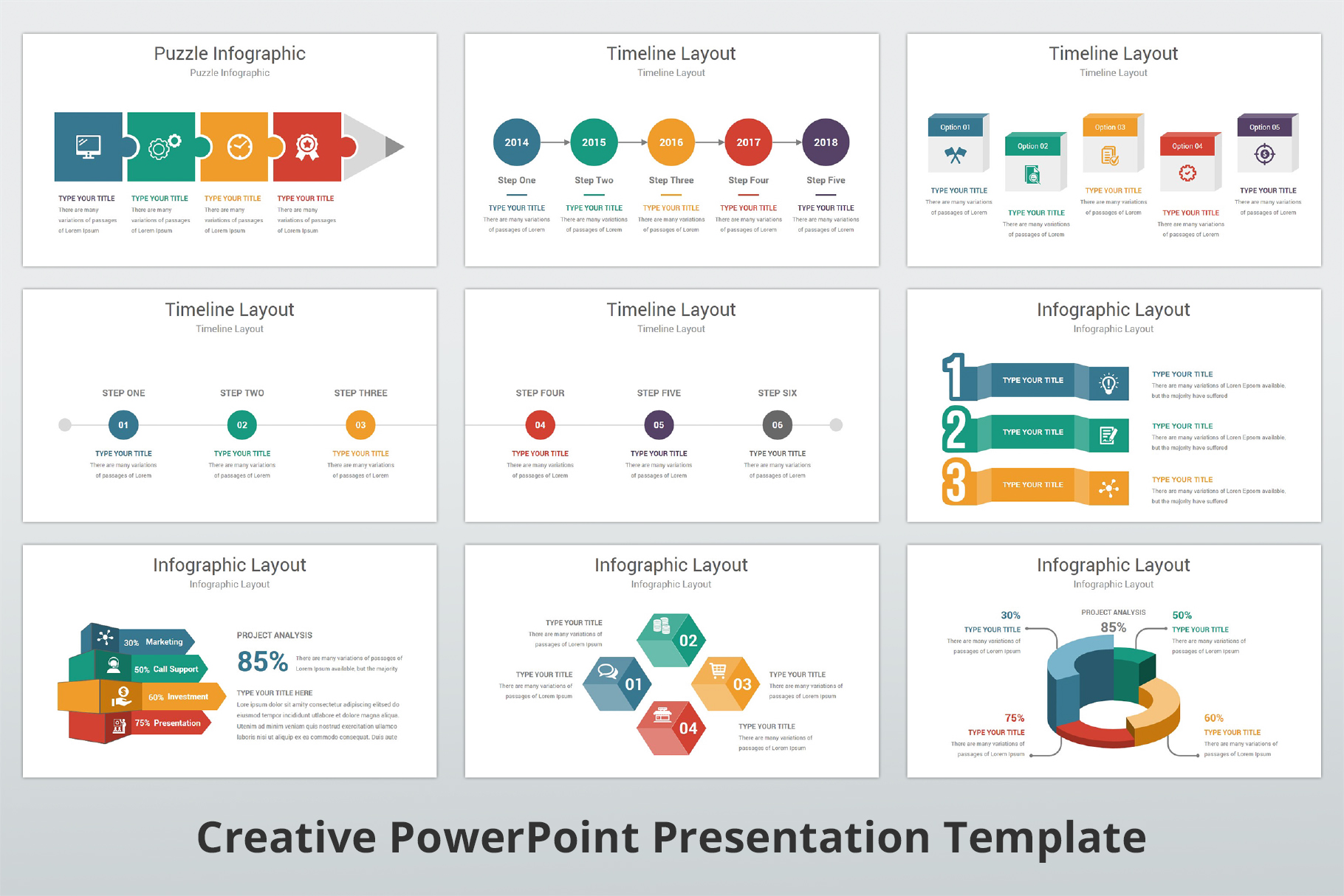 Creative multipurpose PowerPoint Presentation Template example image 12