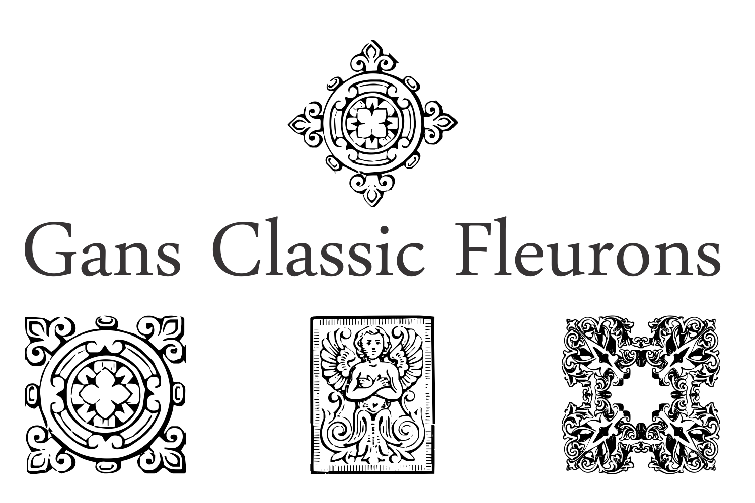 Gans Classic Fleurons example image 5