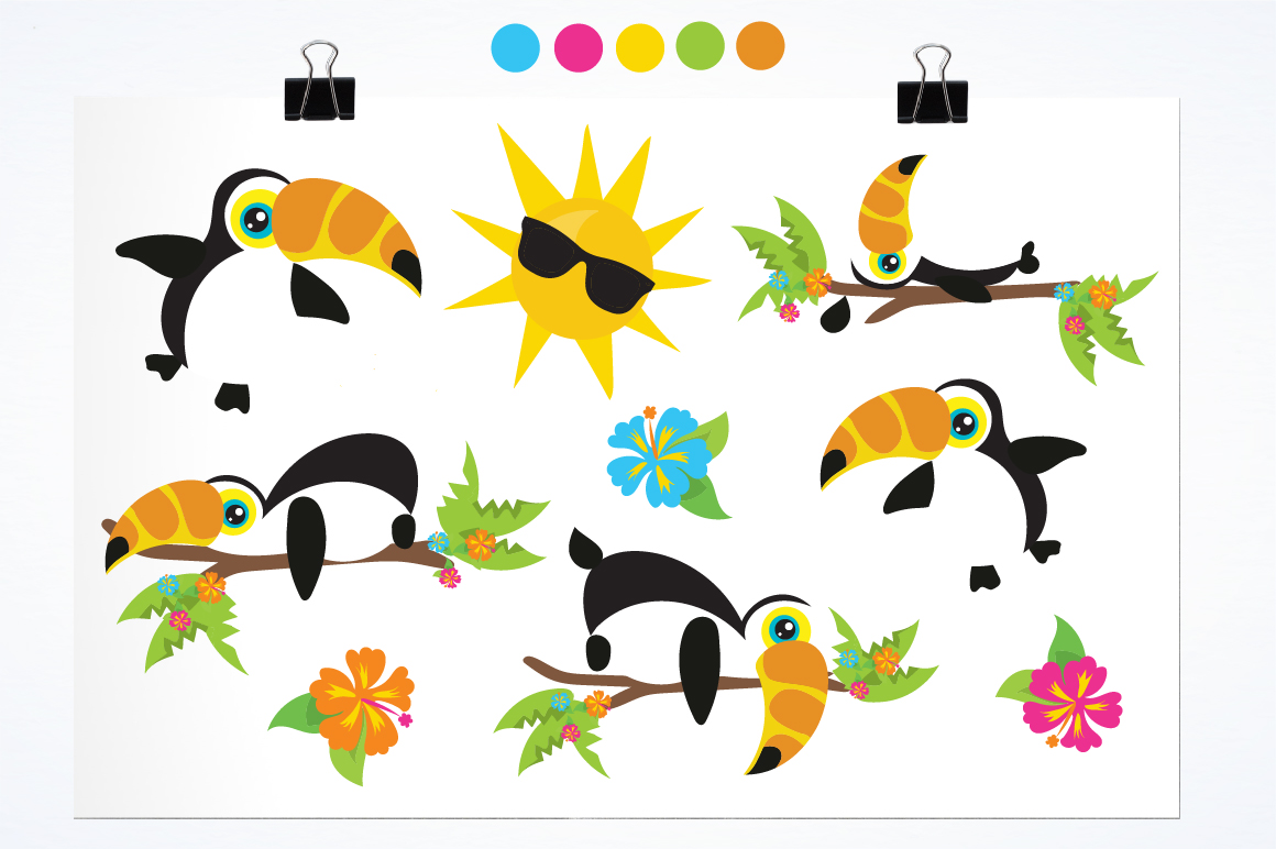 Hello Summer graphic and illustrations example image 2