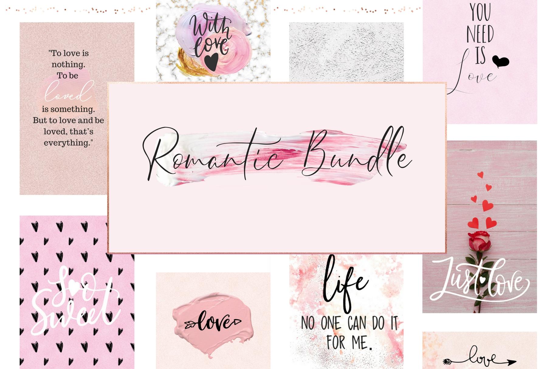 A romantic bundle example image 1
