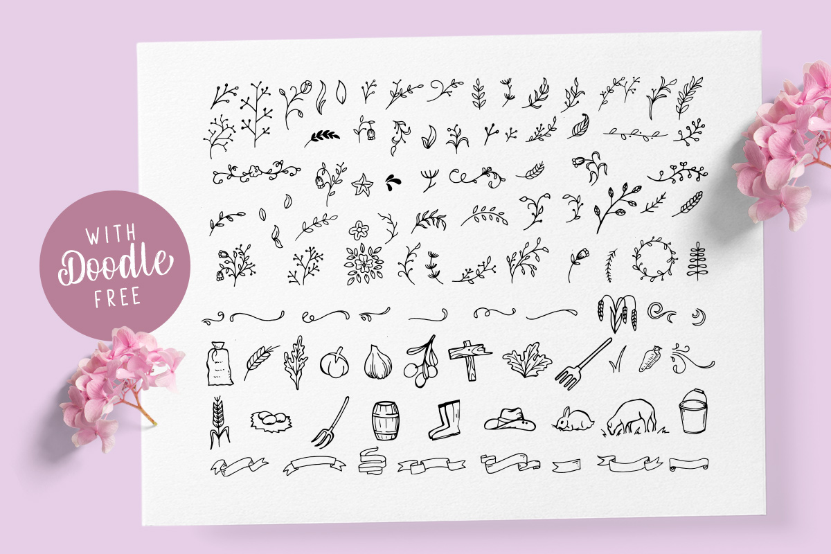Olive - Hand Lettering Tool Kit! example image 9