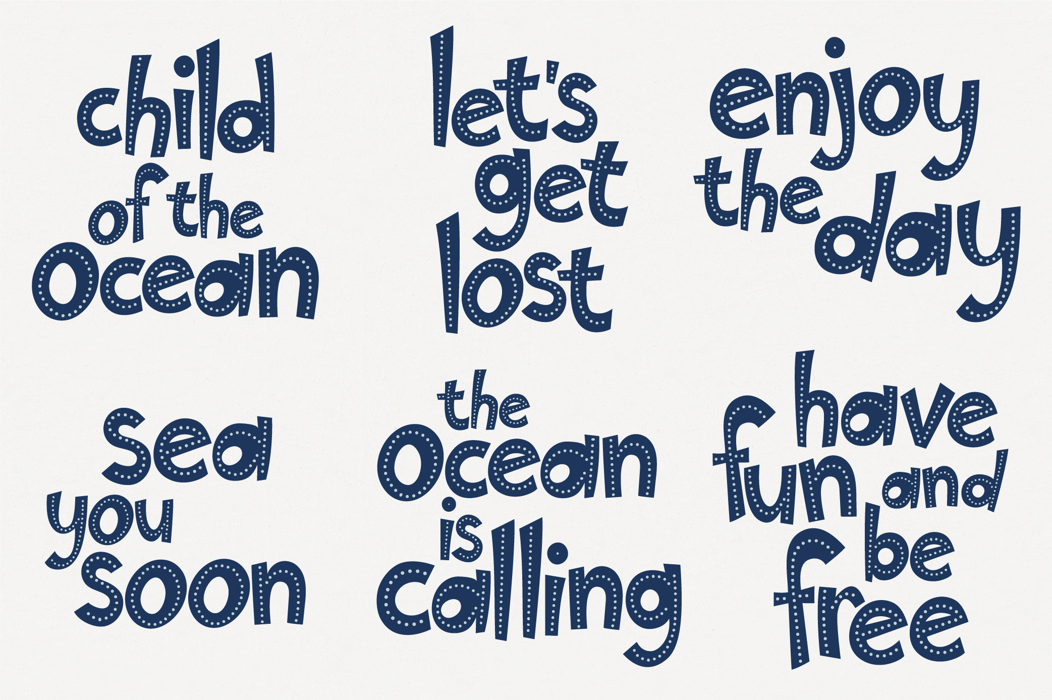 Marine - clipart & lettering example image 4