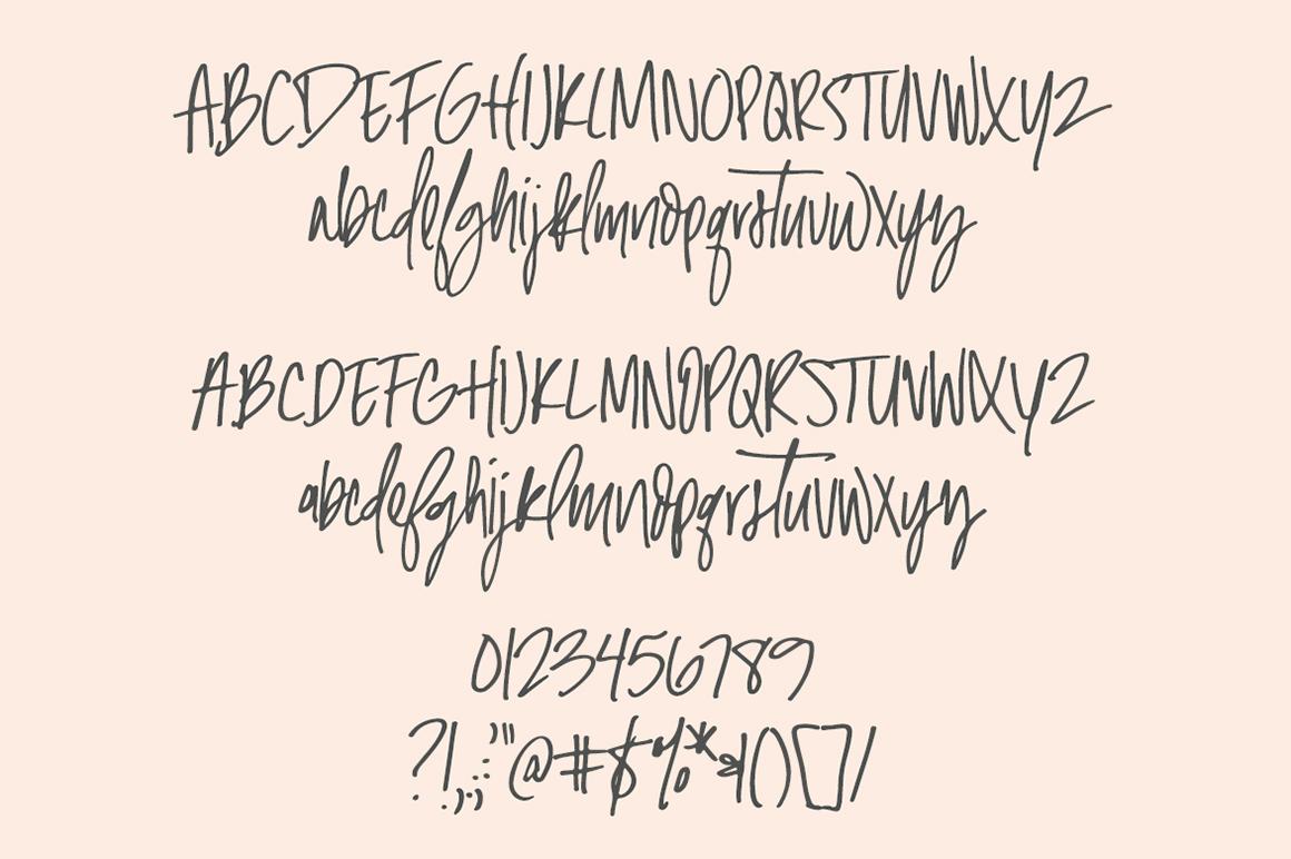 Malibu | Handwritten Font + Extras example image 2