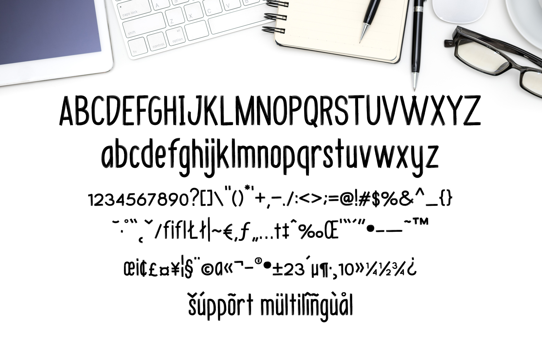 Budhayanti font duo example image 5