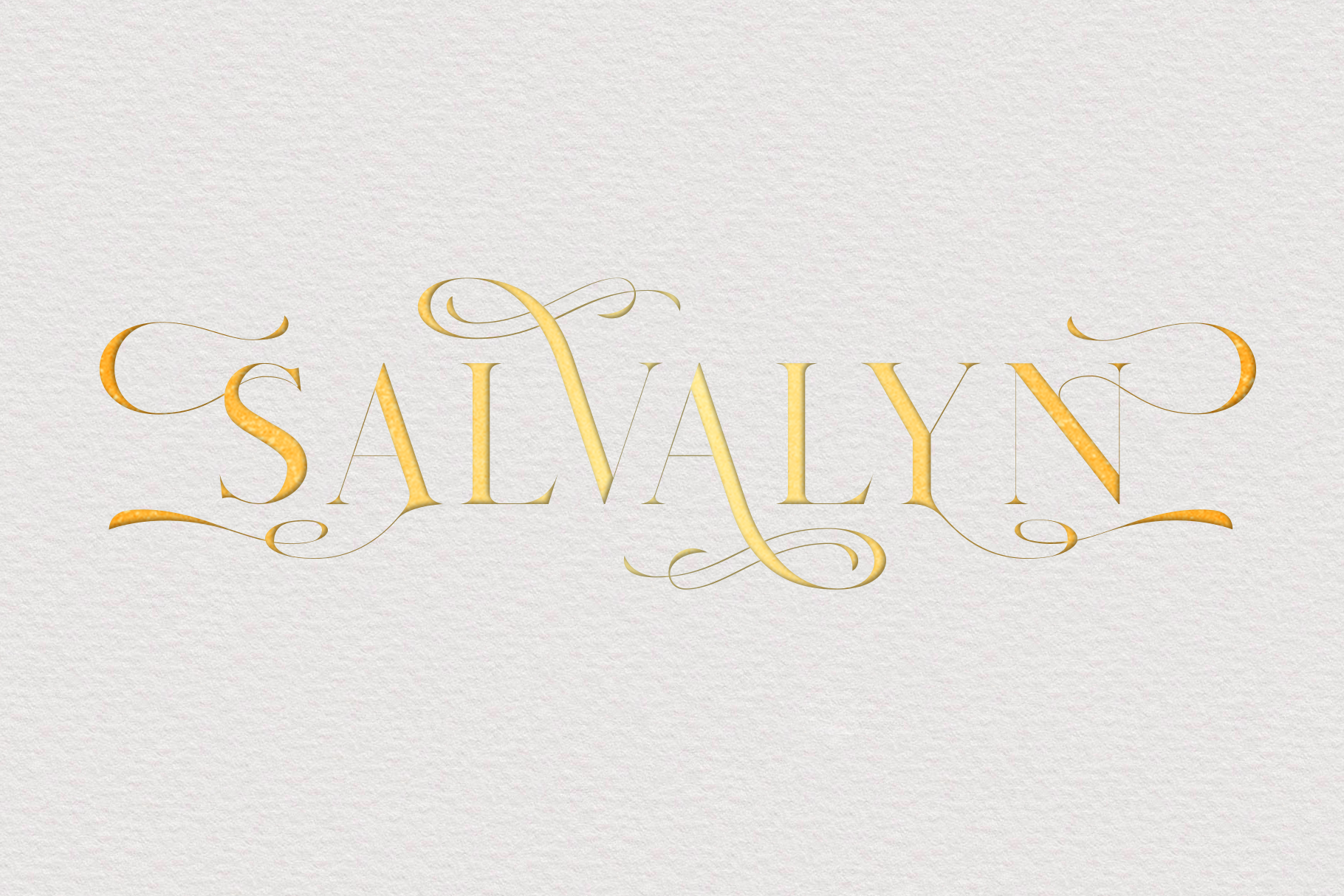 Salvalyn - Stylistic Serif Font example image 11
