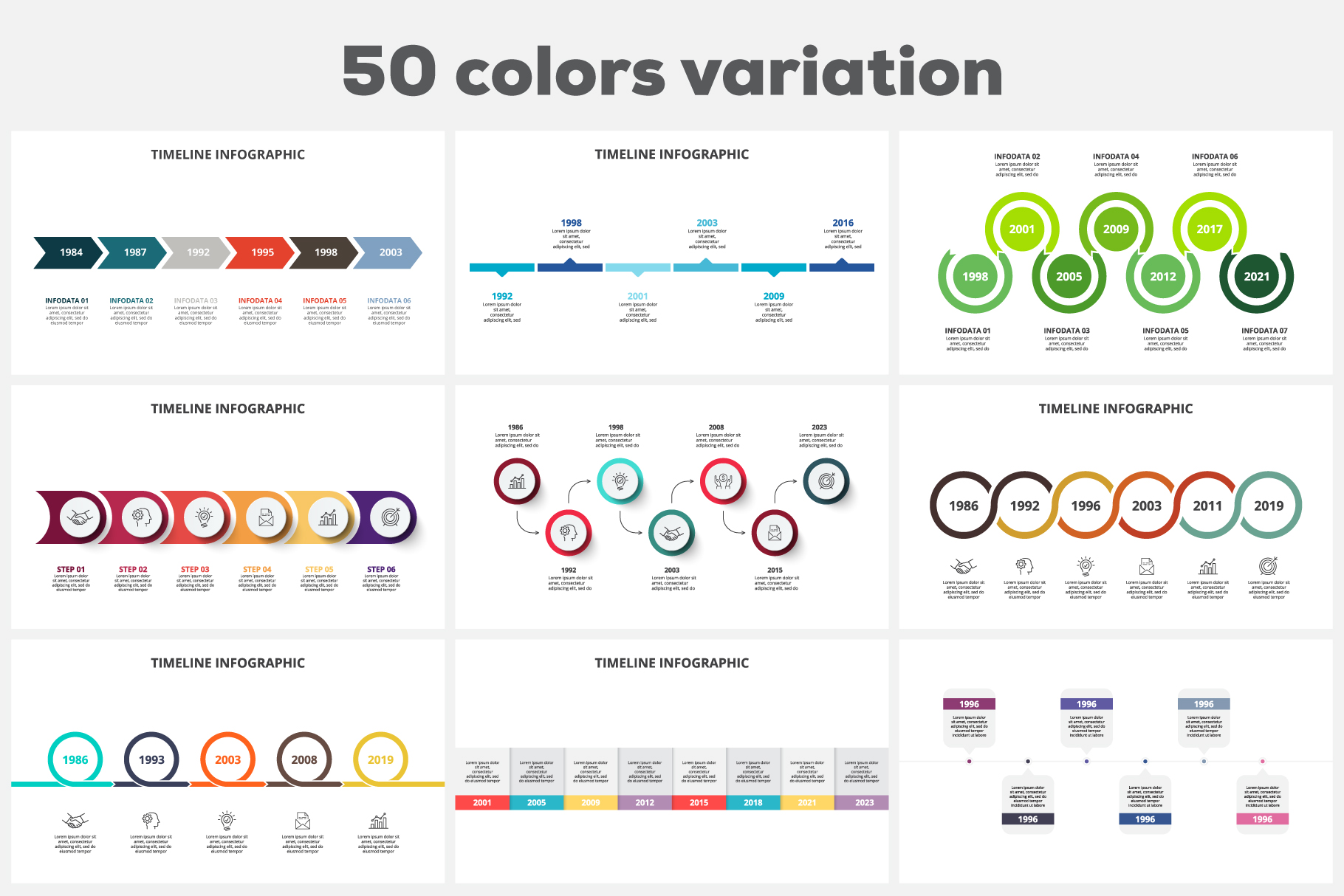Timelines Animated Infographics example image 6