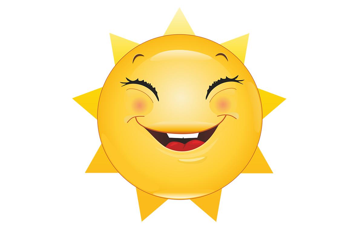 Emoticons Sun example image 4