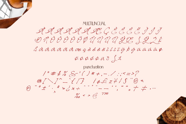 Better Regards Signature Font example image 11