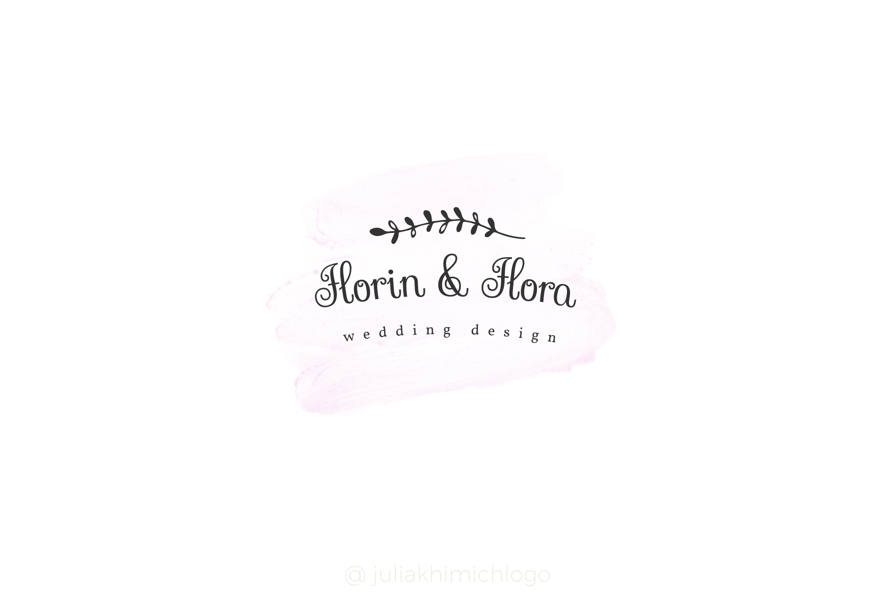 Logo Pack Vol.2. Romantic & Wedding example image 19
