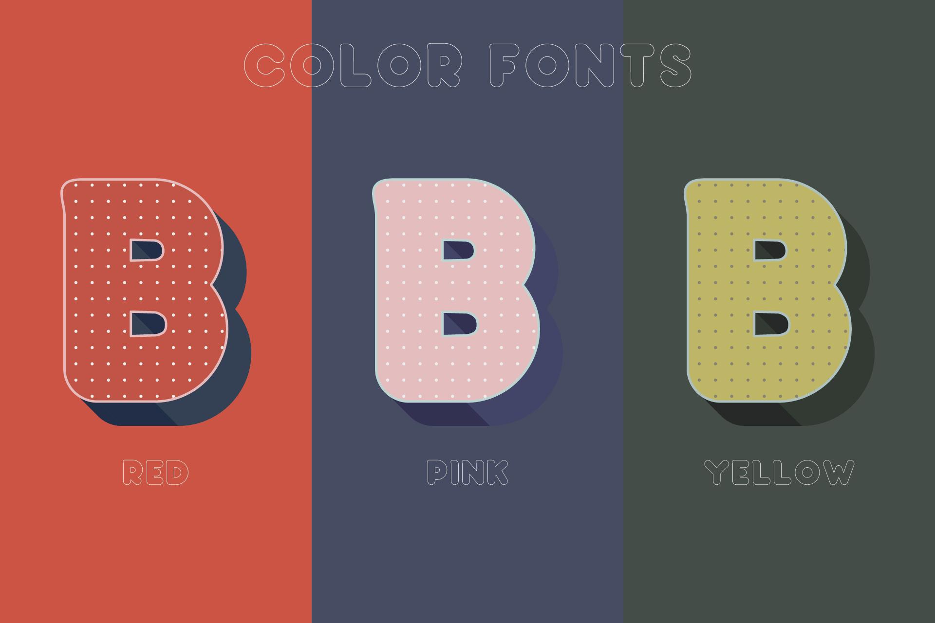 Baku - SVG color font example image 2