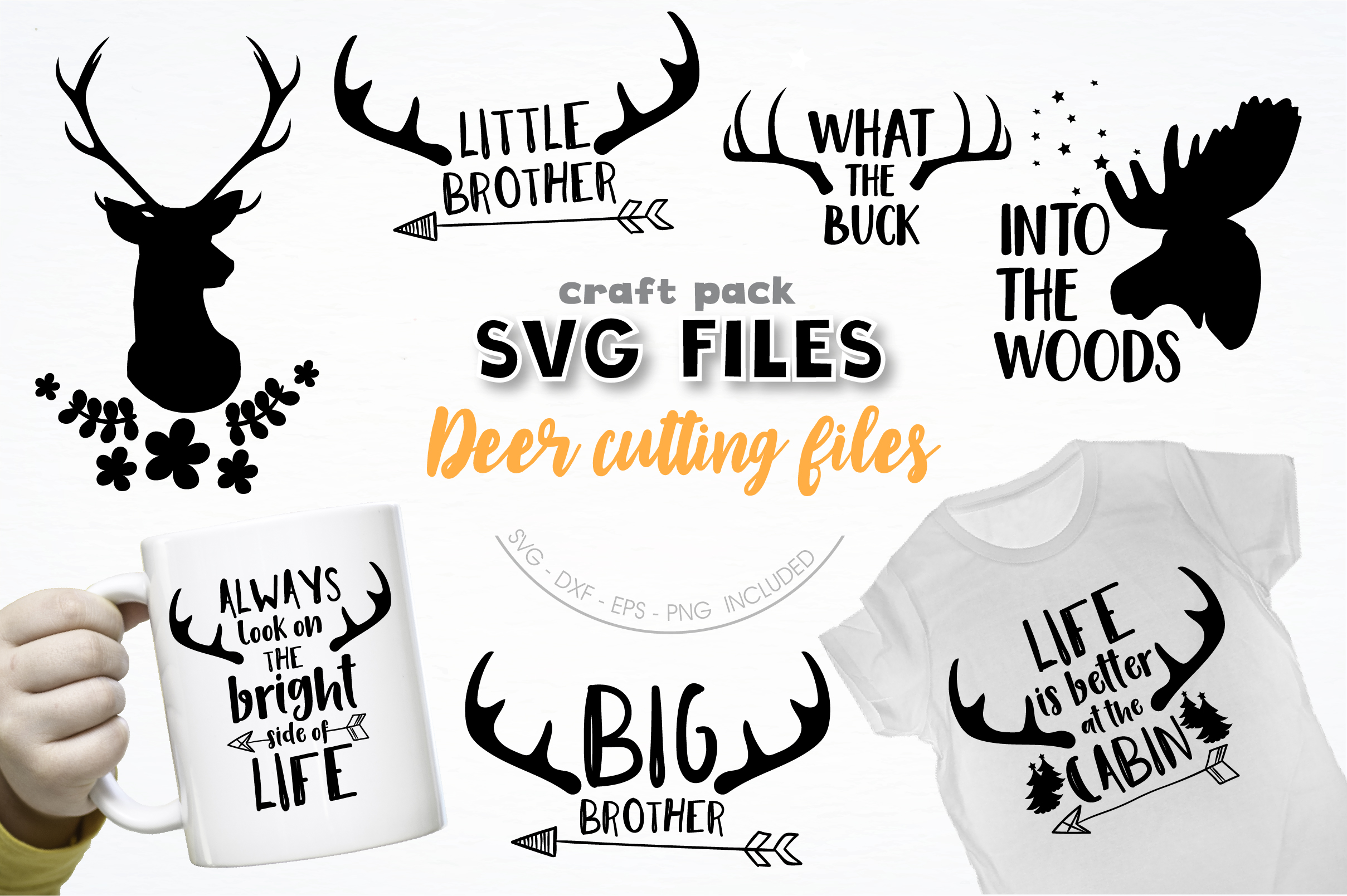 AMAZING SVG AND GRAPHIC BUNDLE- 550 in 1 example image 16