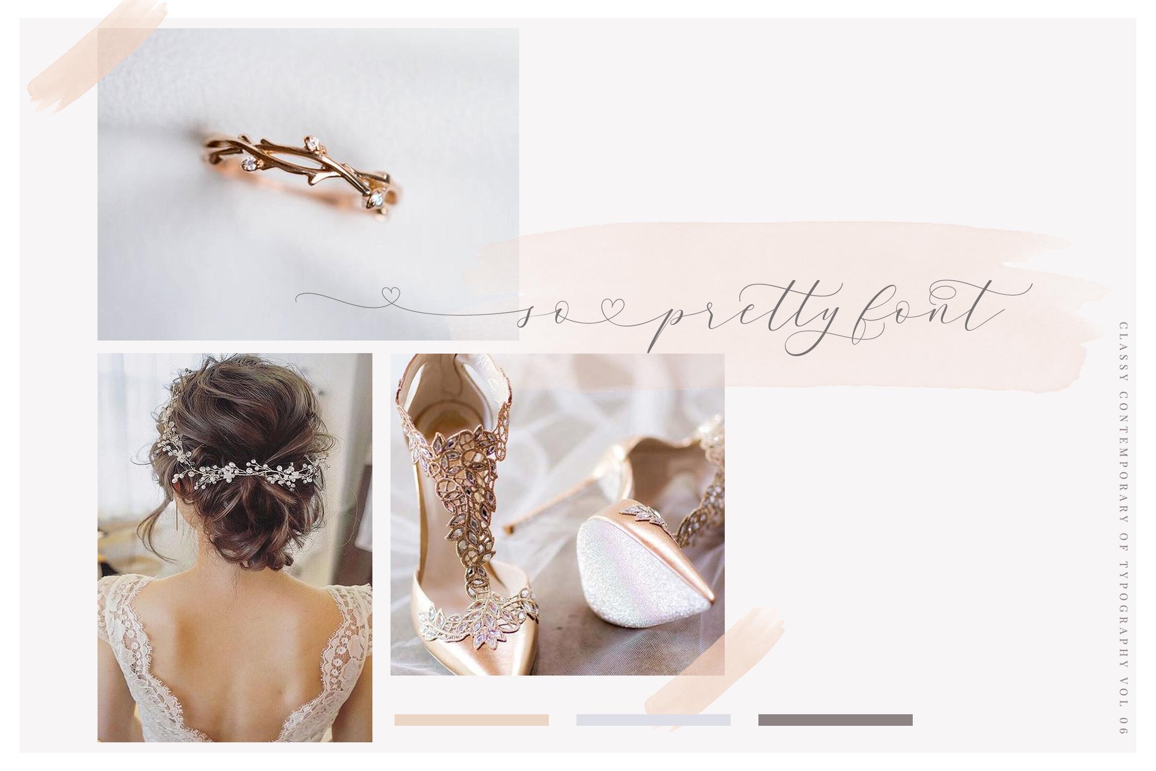 Antara Script Wedding Font example image 13