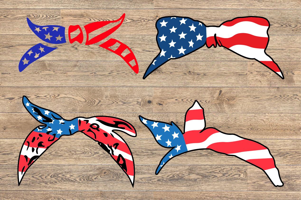 Bandana mask United States Flag 4th July 1365S example image 1