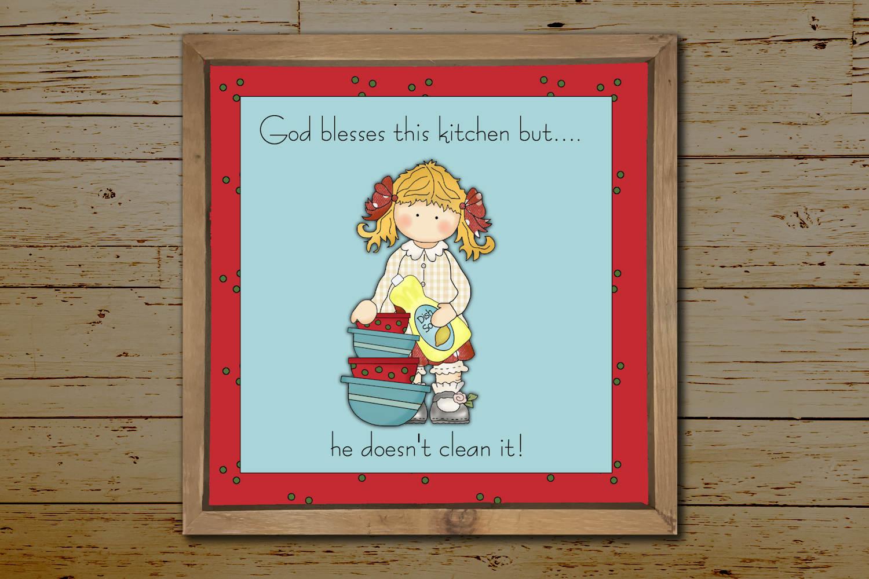 Kitchen Print example image 2