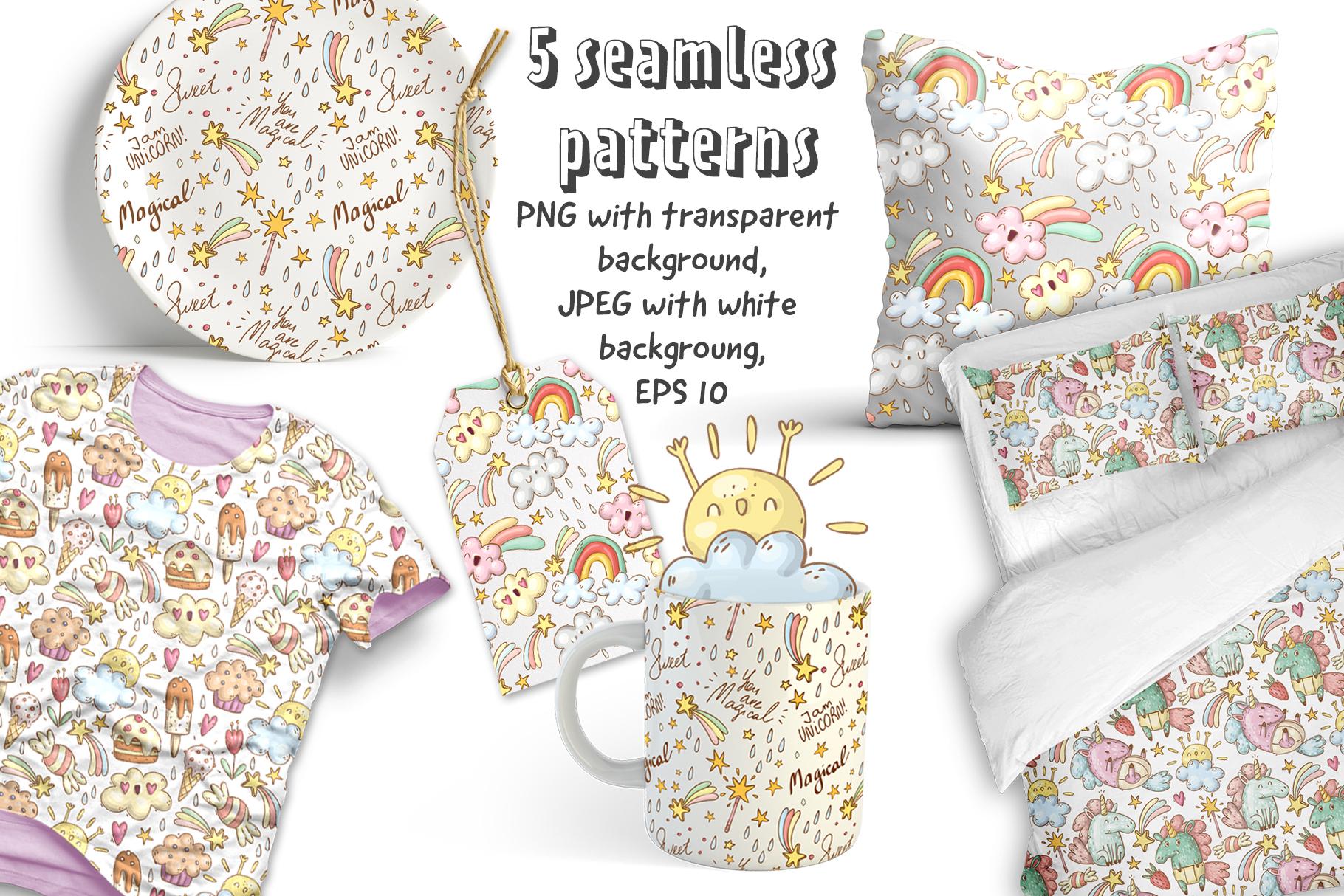 Magical unicorns set example image 3