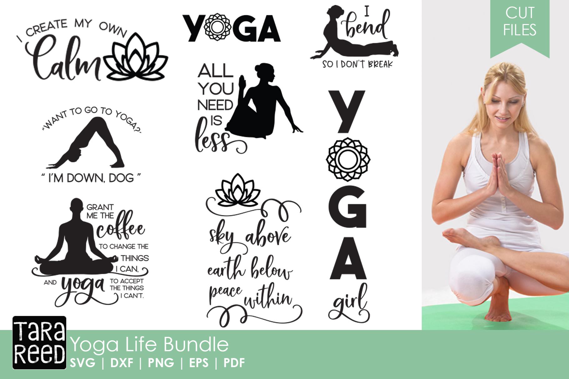 Yoga and Meditation MEGA Bundle example image 5