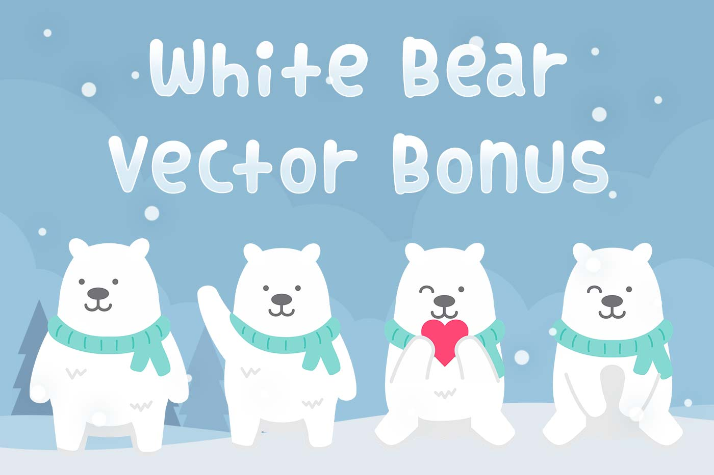 White Bear - Bold Cheerful Font example image 5