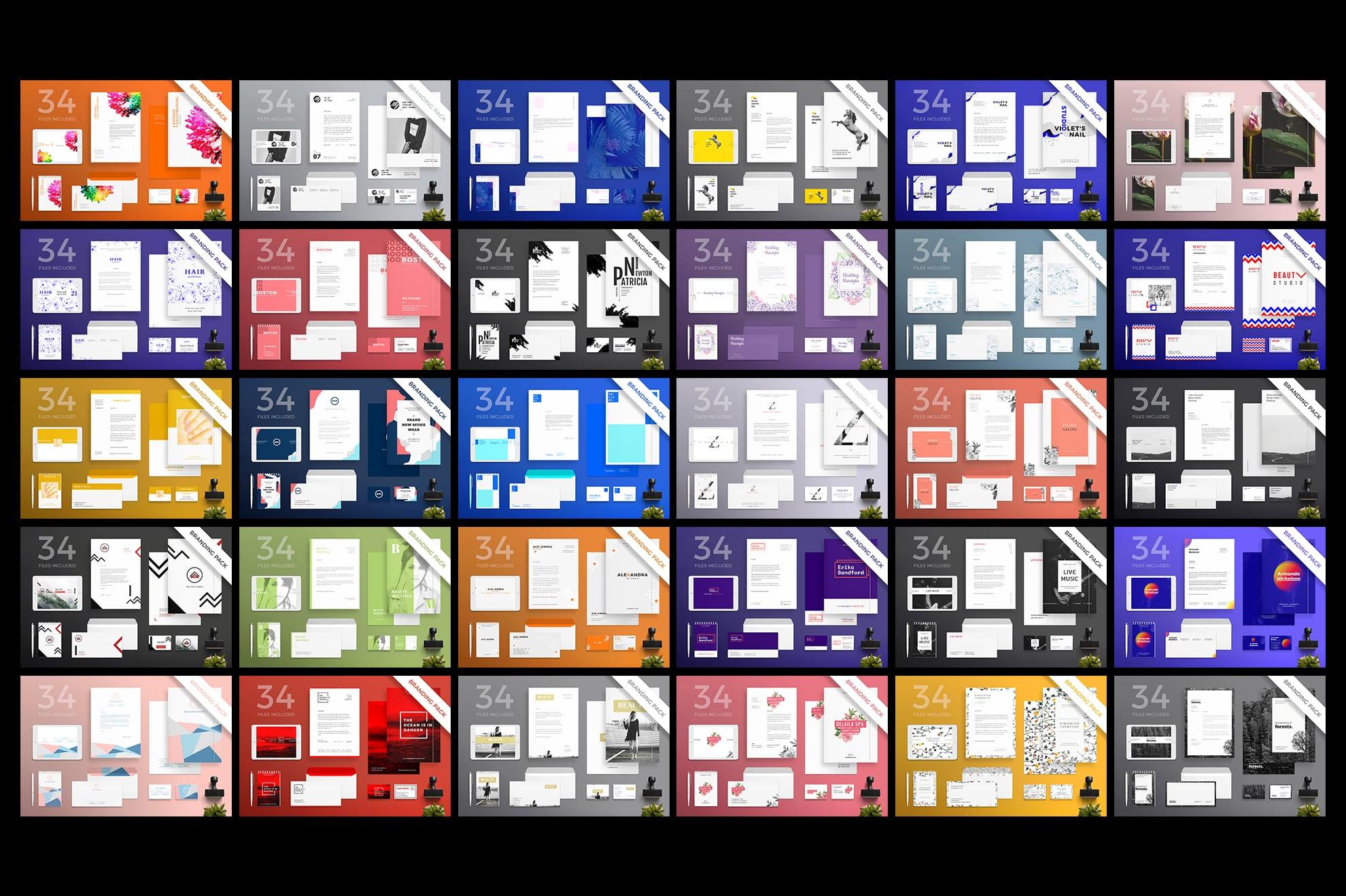 Brand Identity Design Templates Bundle SALE example image 6
