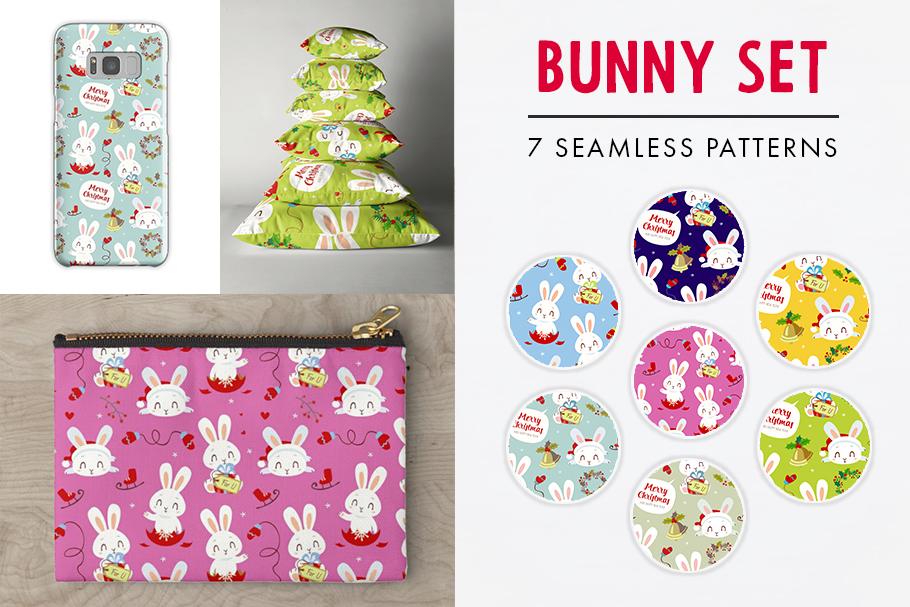 FINAL SALE!  Christmas patterns bundle example image 2