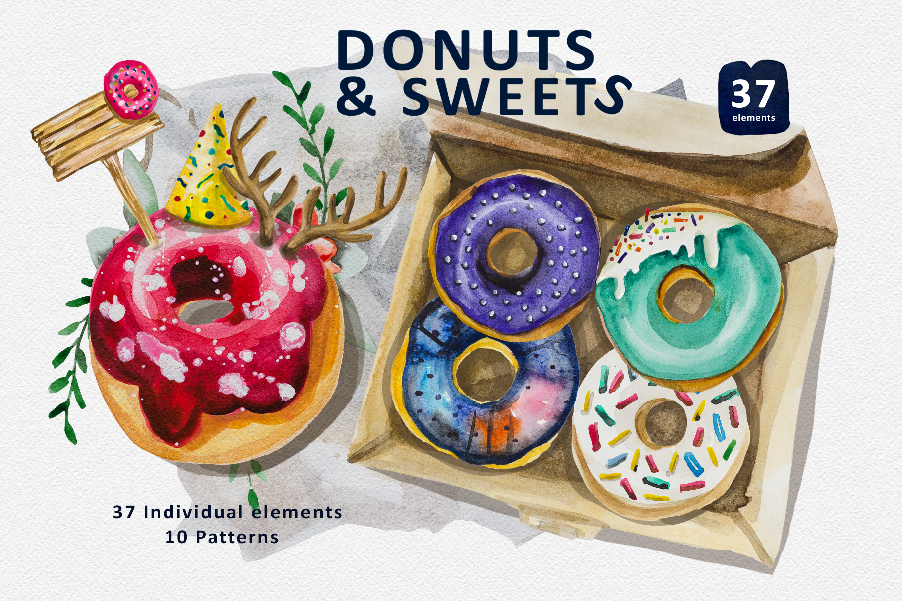 Donuts and Sweets example image 1