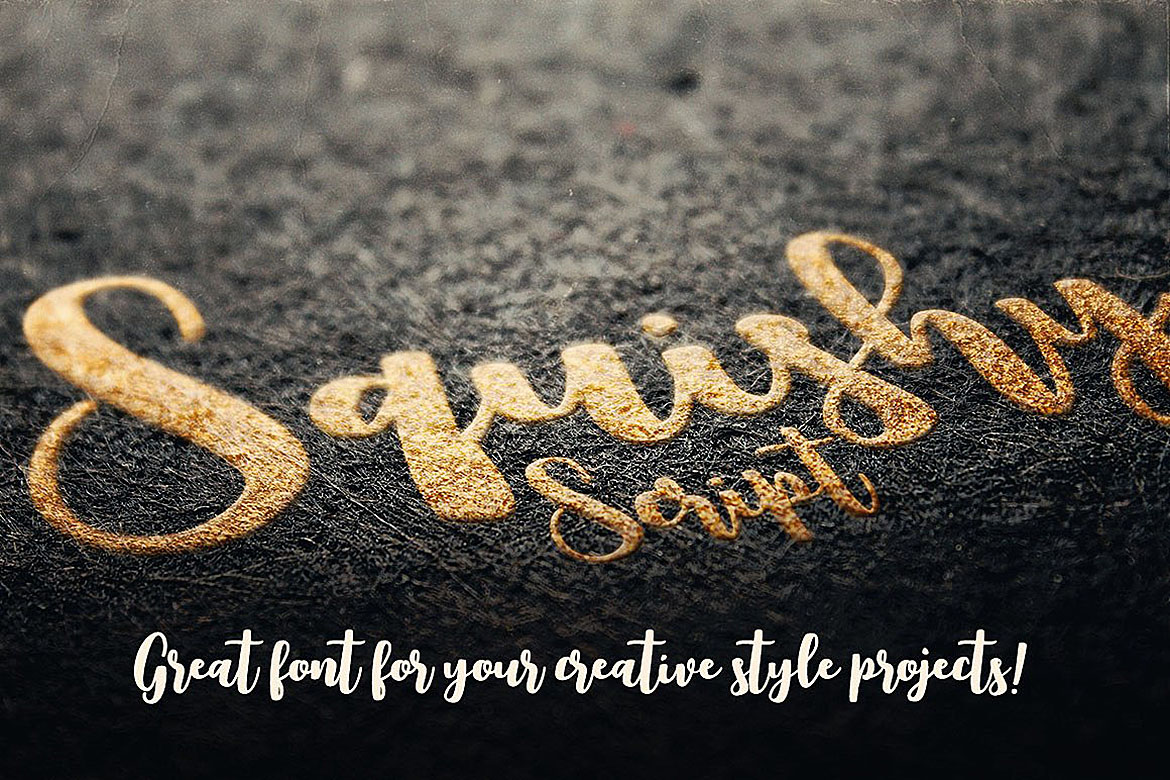 Squishy Script Font example image 4
