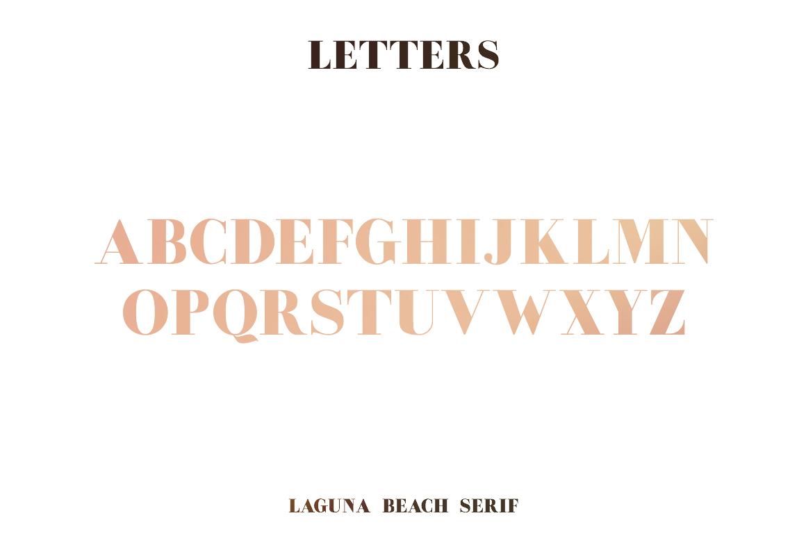 Laguna Beach Font Duo example image 13