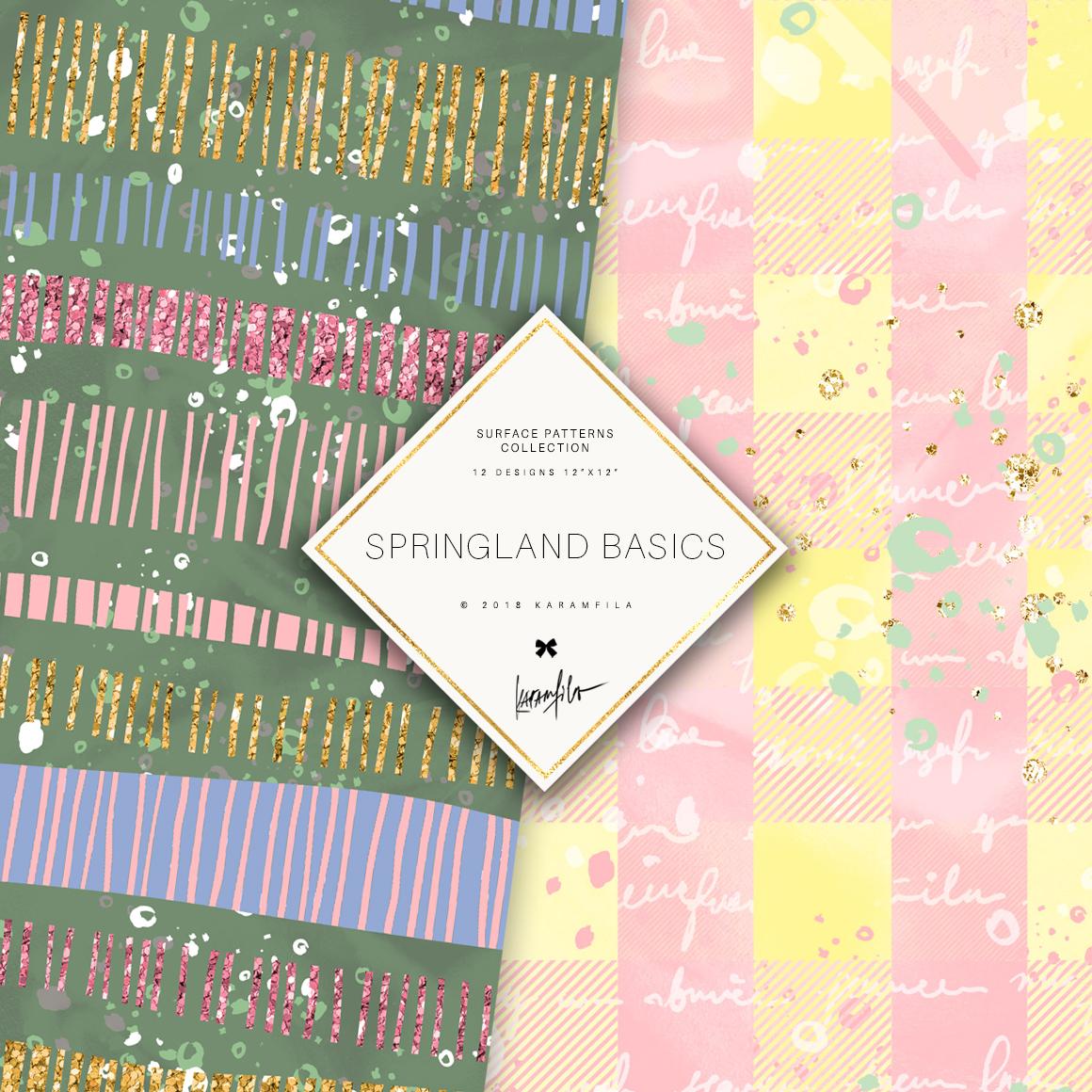 Karamfila's Springland Basic Patterns example image 2