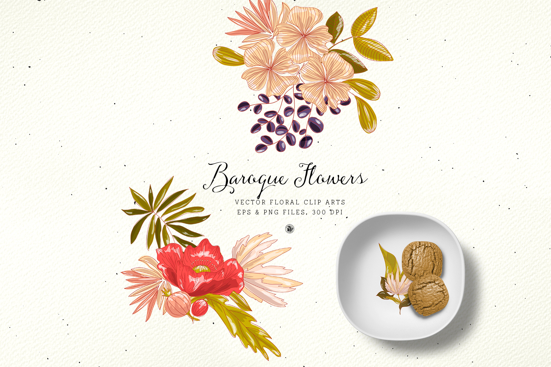 Baroque Flowers example image 5