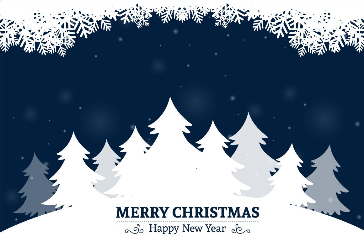 Christmas greeting card example image 1