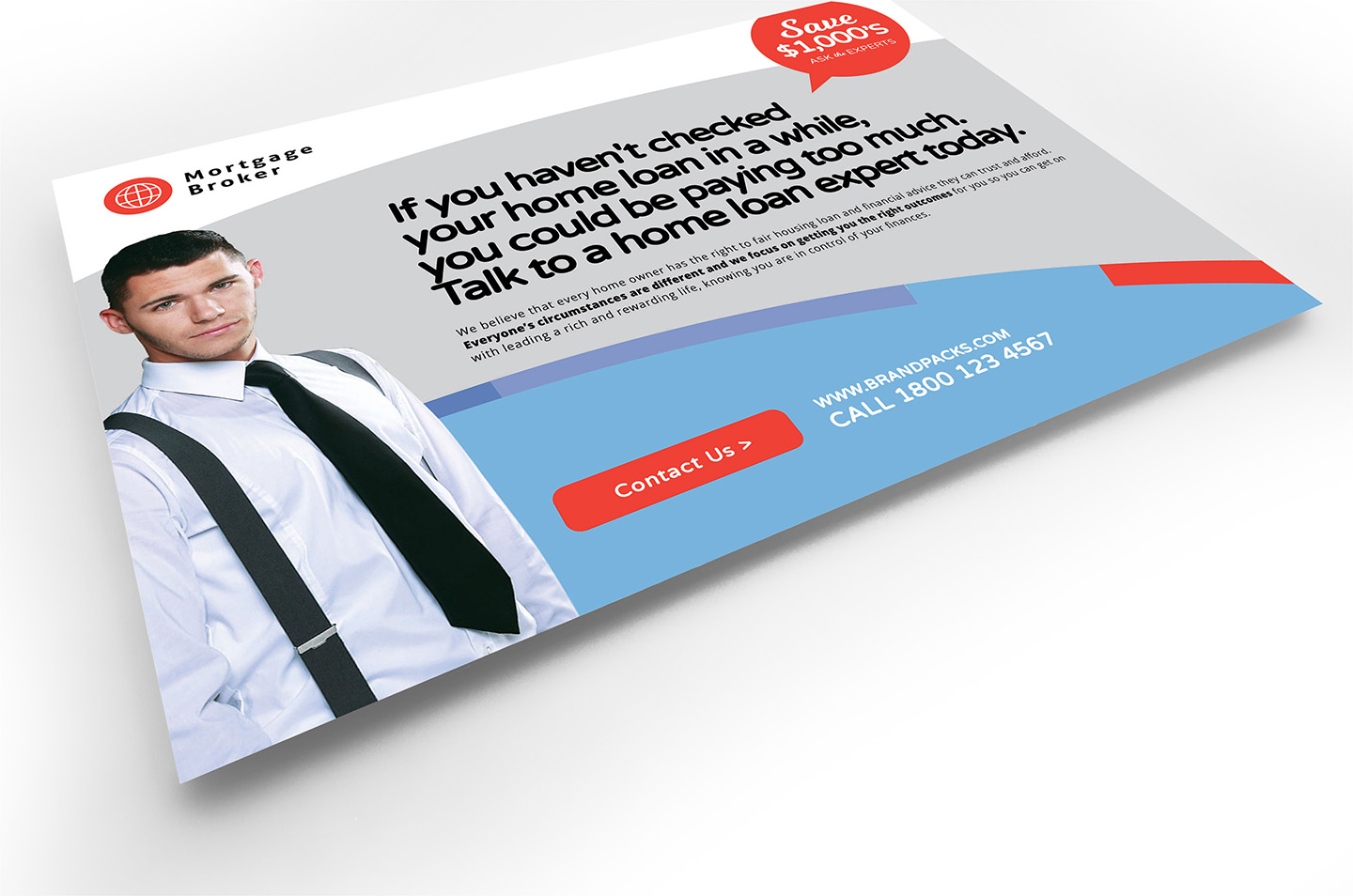 Modern Corporate Flyer Template example image 4
