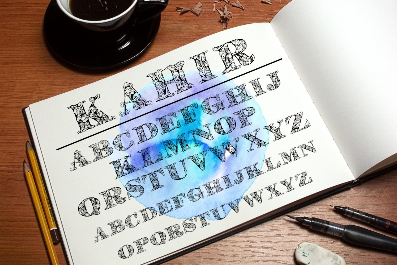 Kahir Font example image 3