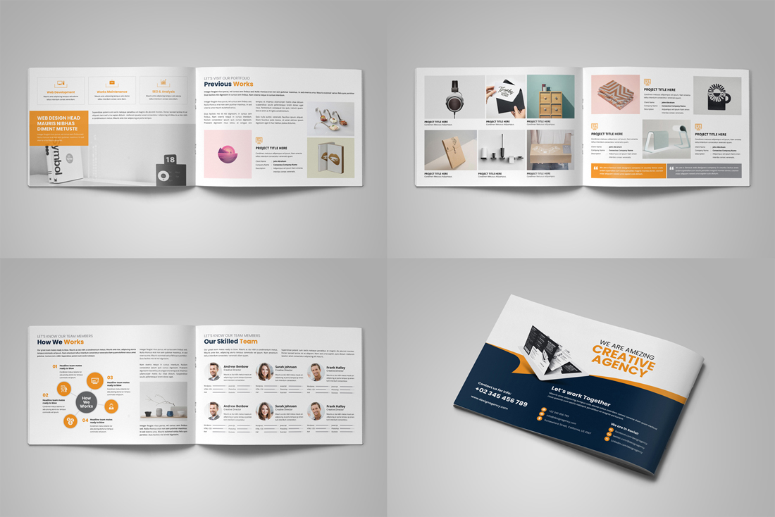 Portfolio Brochure Bundle example image 9
