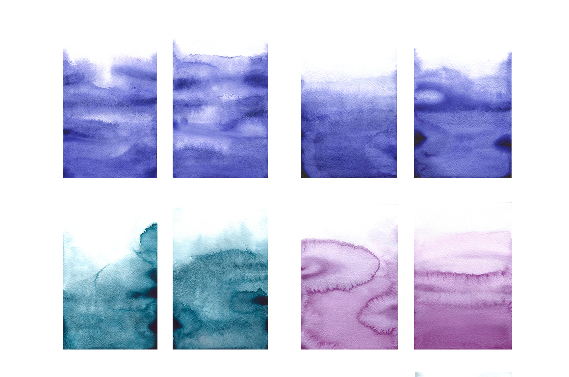 Ombre Watercolor Texture example image 8