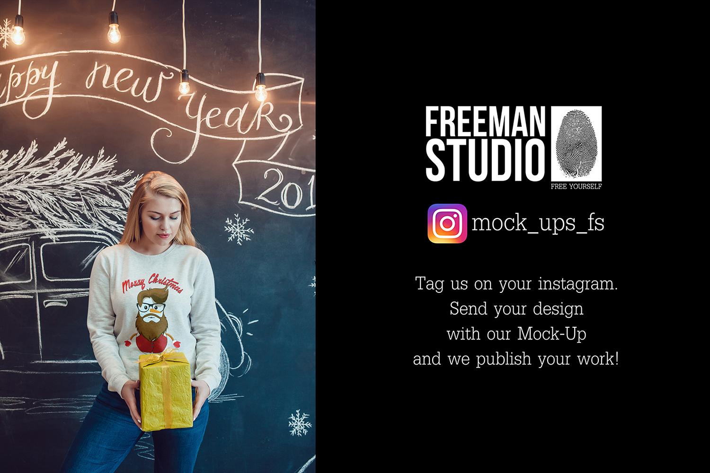 Christmas Sweatshirt Mock-Up Vol.2 example image 2