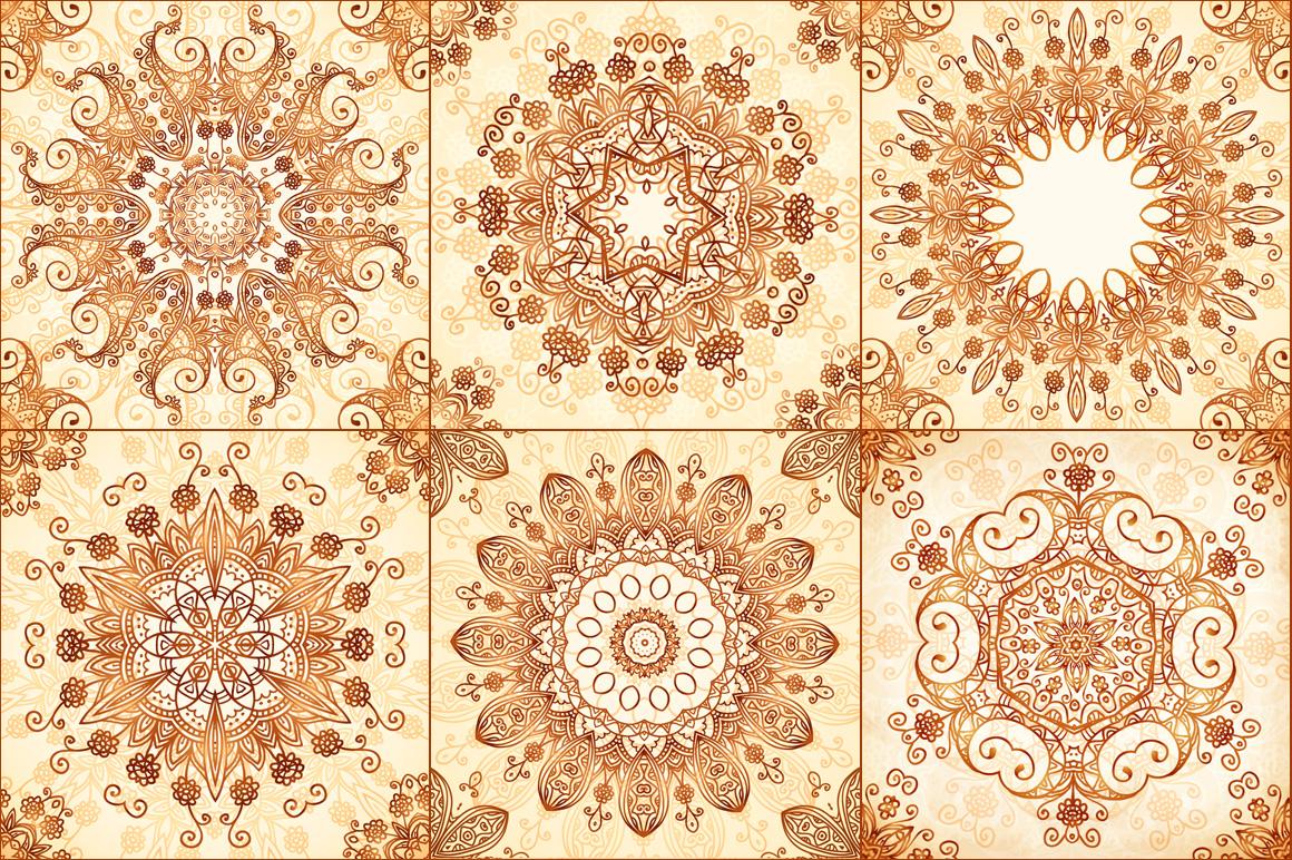 40 wonderful vintage vector patterns example image 4