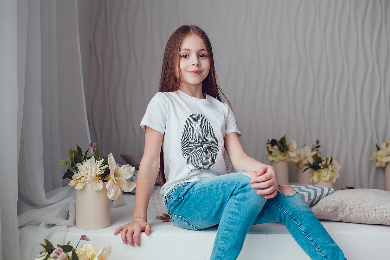 Kids T-Shirt Mock-Up Vol.1 2017 example image 10