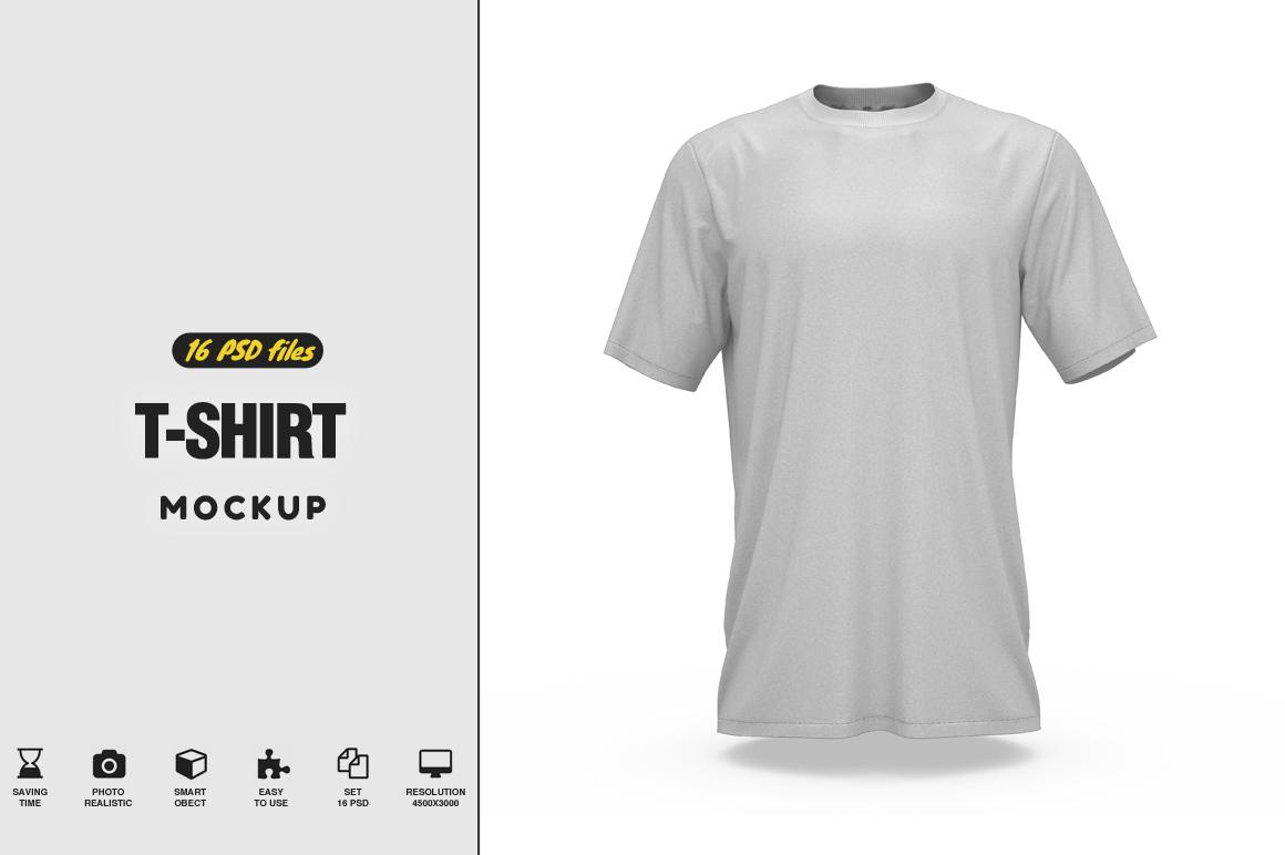 T-Shirt Mockup example image 1