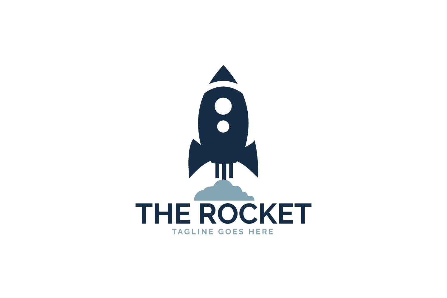 The Rocket Logo Design. example image 2