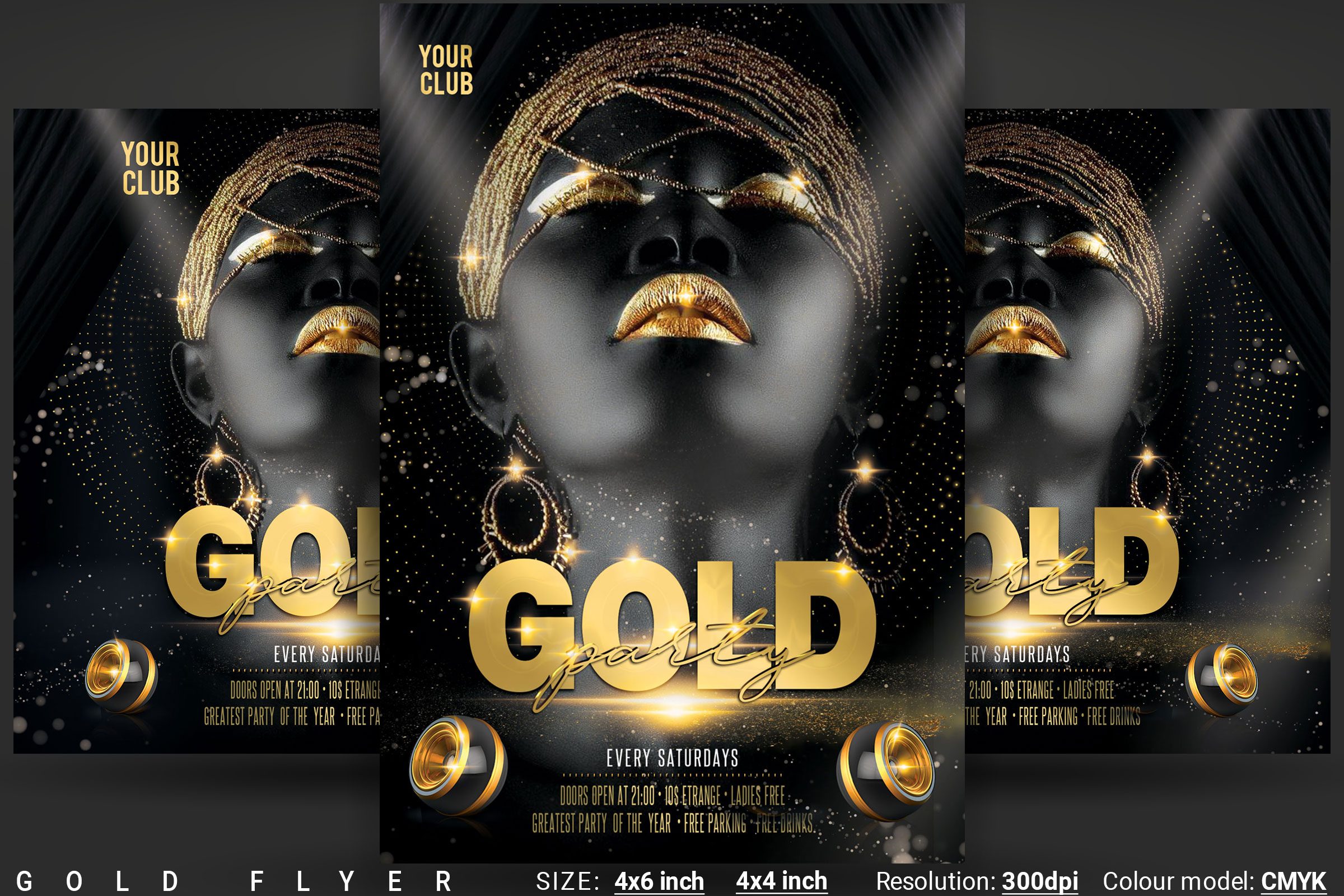 Gold Flyer example image 1