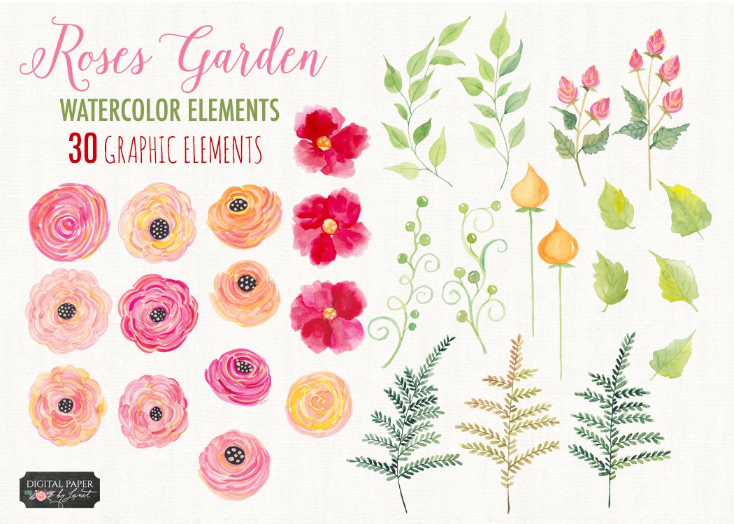 Roses Garden Collection example image 2