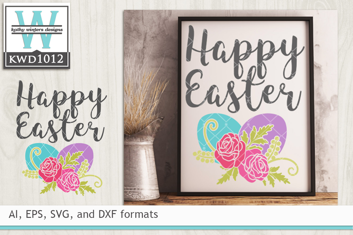 Easter SVG - Happy Easter example image 1