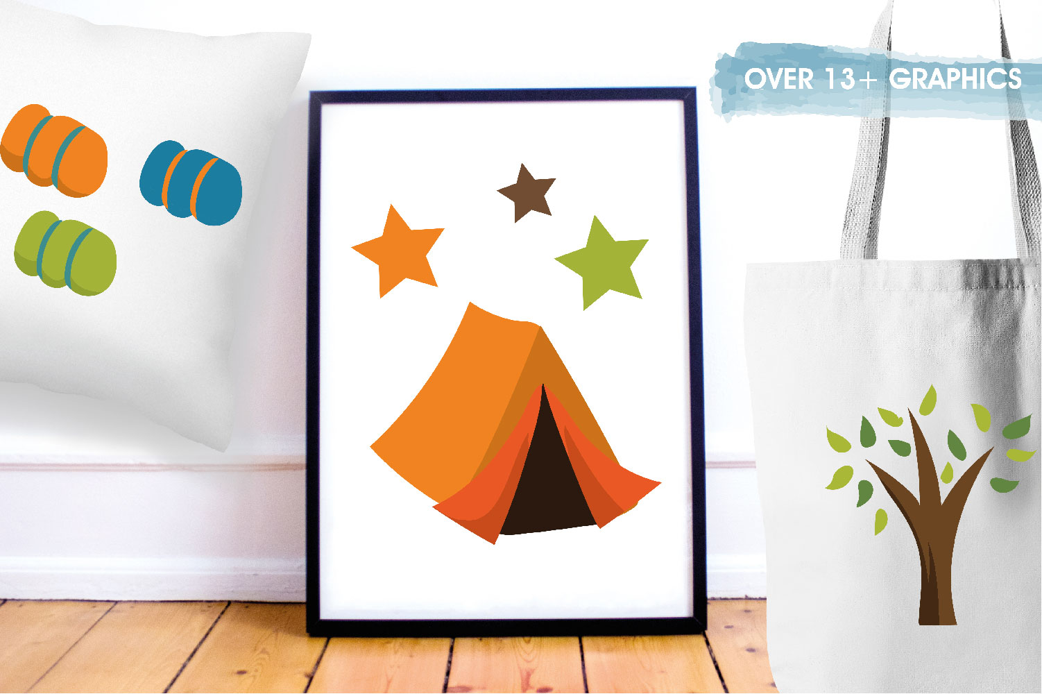 Camping Cute Graphics example image 5