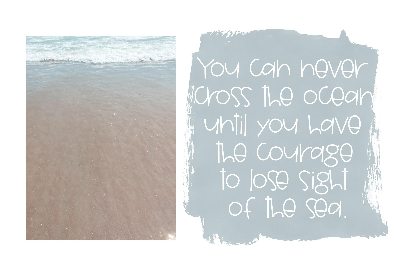 Seashore - A Fun Handwritten Font example image 5