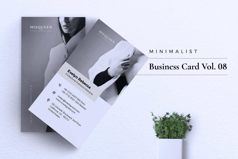 Minimalist Business Card Vol. 08 example image 5