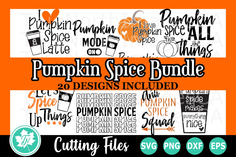 Pumpkin Spice Bundle - SVG Cut Files example image 1