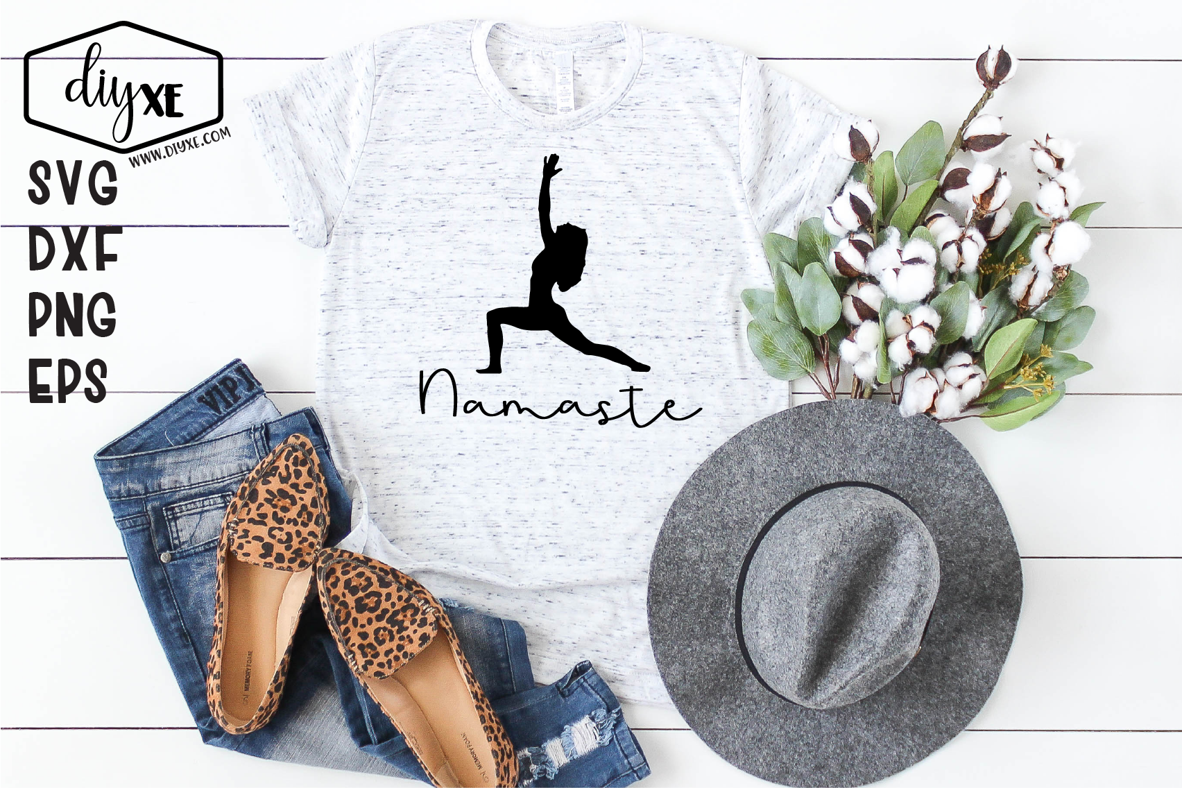 Namaste Bundle - A Collection Of Yoga SVGs example image 8